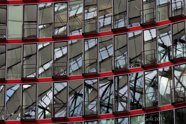Reflective windows 20