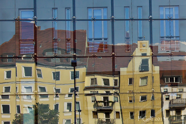 Reflective windows 23