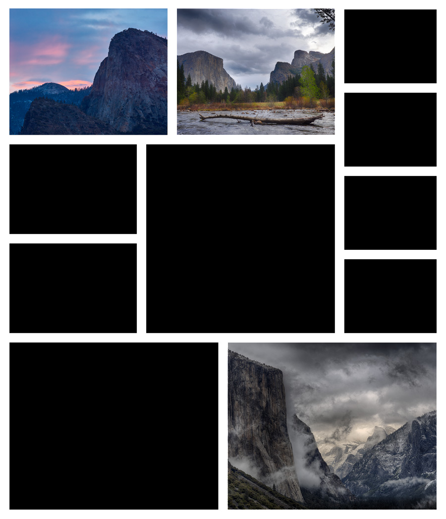 Collage A Day in Yosemite 03
